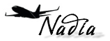 Miss Jet-setter Nadia