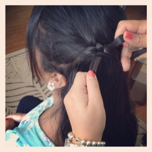 Modern Girl's Martha Waterfall Twist Braid