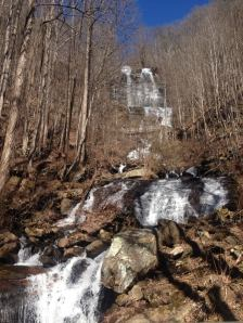 Waterfall in Amicalola Falls State Park